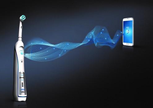 Bluetooth-Verbindung zwischen Oral-B SmartSeries und Smartphone1