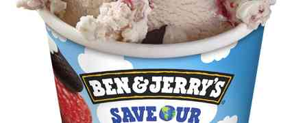 "Save Our World mit der neuen Ben& Jerry's Eissorte ""Save Our Swirled"""